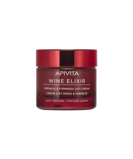 Apivita wine elixir wrinkle and firmness lift cream light itzi hub il luogo sicuro per i tuoi regali