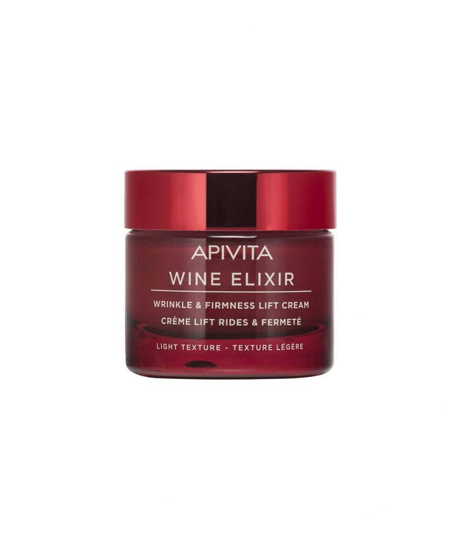 Apivita wine elixir wrinkle and firmness lift cream light itzi hub il luogo sicuro per i tuoi regali