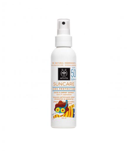 Apivita Suncare Baby Spray SPF50 itzi hub il luogo sicuro per i tuoi regali