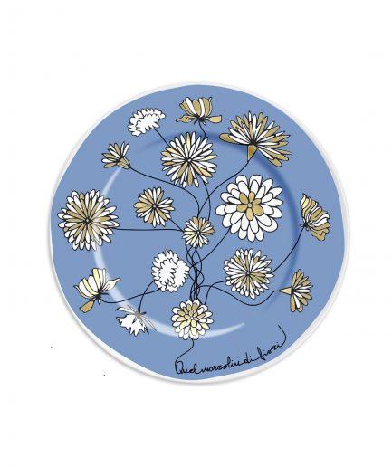 Ilaria.i Piattino Quel Mazzolin di Fiori Blu itzi hub il luogo sicuro per i tuoi regali