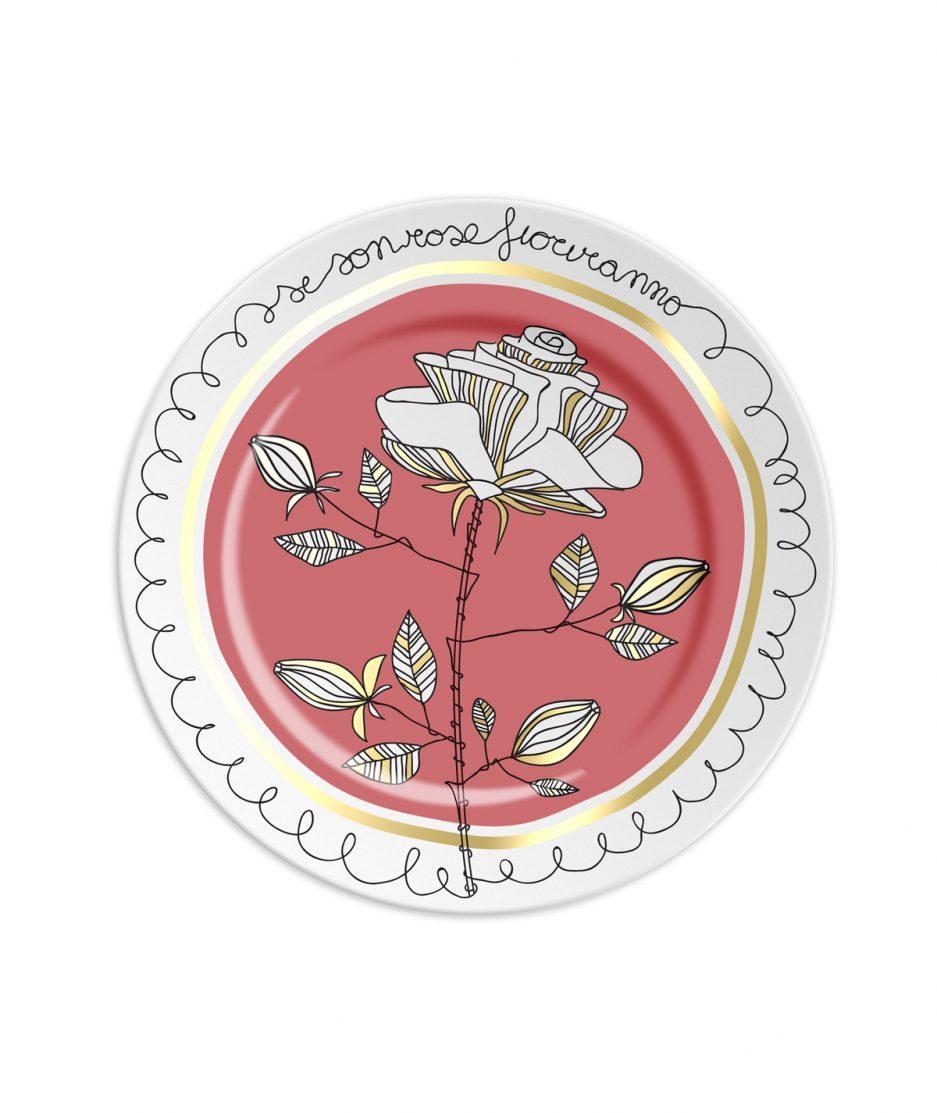 Ilaria.i Piattino Se Son Rose Fioriranno Rosa itzi hub il luogo sicuro per i tuoi regali