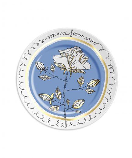 Ilaria.i Piattino Se Son Rose Fioriranno Blu itzi hub il luogo sicuro per i tuoi regali