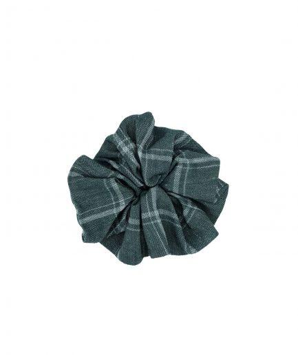 le pezze scrunchie grande tessuto verde itzi hub il luogo sicuro per i tuoi regali