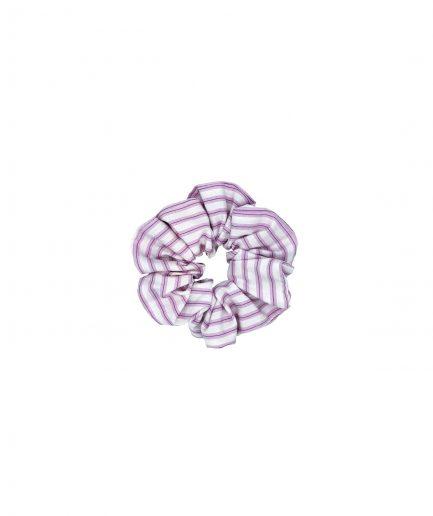 le pezze scrunchie piccolo cotone a righe rosa itzi hub il luogo sicuro per i tuoi regali