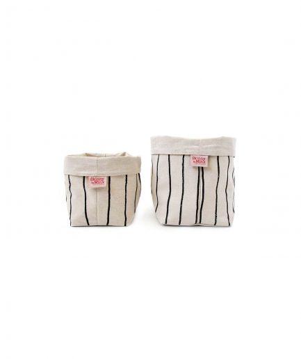 Skinny laMinx Cestino Pane Simple Stripe Licorice itzi hub il luogo sicuro per i tuoi regali