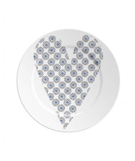 Ilaria.i Piattino ABC Love Blue itzi hub il luogo sicuro per i tuoi regali