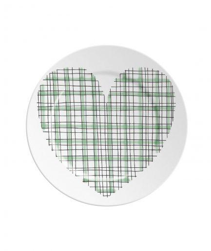 Ilaria.i Piattino ABC Love Green itzi hub il luogo sicuro per i tuoi regali