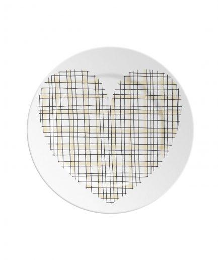 Ilaria.i Piattino ABC Love Yellow itzi hub il luogo sicuro per i tuoi regali
