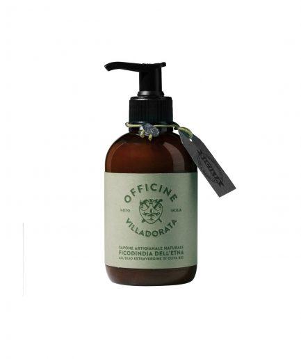 Officine Villadorata Sapone Liquido Fico d'India d'Etna itzi hub il luogo sicuro per i tuoi regali
