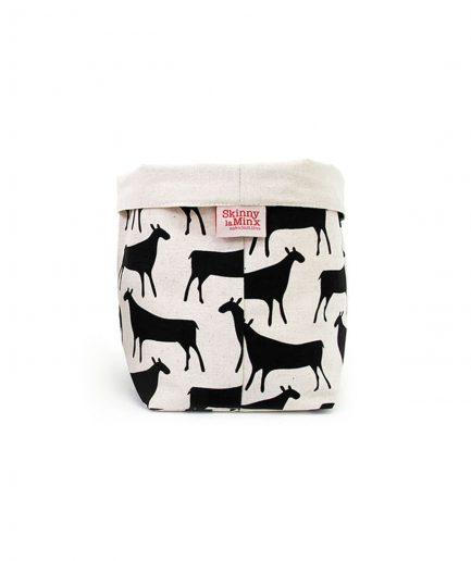 skinny laminx cestino pane herds black medium itzi hub il luogo sicuro per i tuoi regali