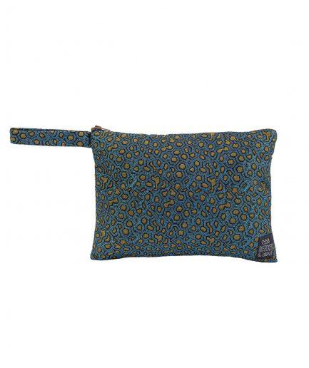 Bleecker & Love Pochette Metallic Blue itzi hub il luogo sicuro per i tuoi regali