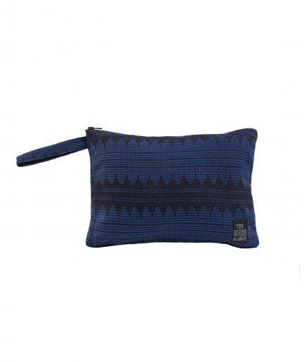Bleecker & Love Pochette Sound Wave Blue itzi hub il luogo sicuro per i tuoi regali