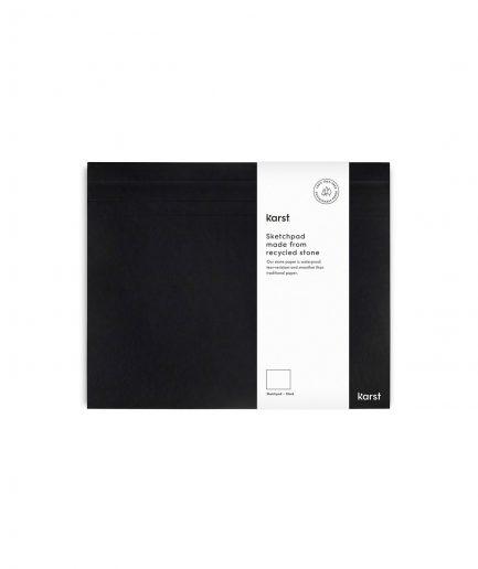 karst Stone Paper sketchpad black itzi hub il luogo sicuro per i tuoi regali
