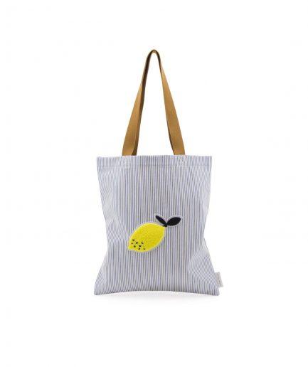 sticky lemon tote blu itzi hub il luogo sicuro per i tuoi regali