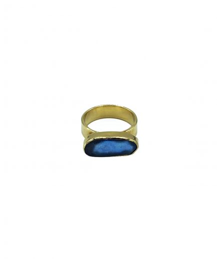 Adelaida jewels anello turner in labradorite itzi hub il luog sicuro per i tuoi regali