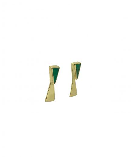 Adelaida Jewels Orecchini Land Onice Verde - ITZI HUB: il luogo sicuro per i tuoi regali 02