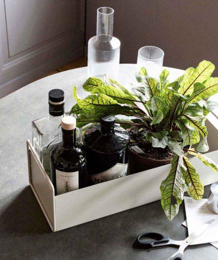 Ferm Living Plant Box Piccolo Beige - ITZI HUB: il luogo sicuro per i tuoi regali