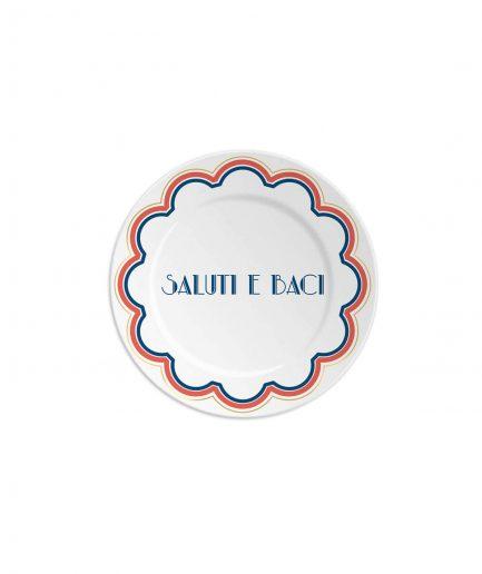 Ilaria.i Piattino Saluti e Baci - ITZI HUB: il luogo sicuro per i tuoi regali