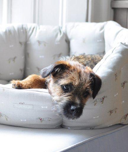 Sophie Allport cuccia cane M terrier; ITZI HUB il luogo sicuro per i tuoi regali
