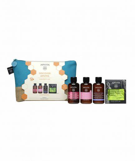 Apivita Cofanetto Essential To Go - ITZI HUB il luogo sicuro per i tuoi regali