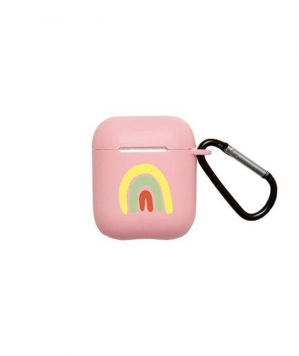 WOOD'D AirPods Case Rainbow Pink - ITZI HUB: il luogo sicuro per i tuoi regali