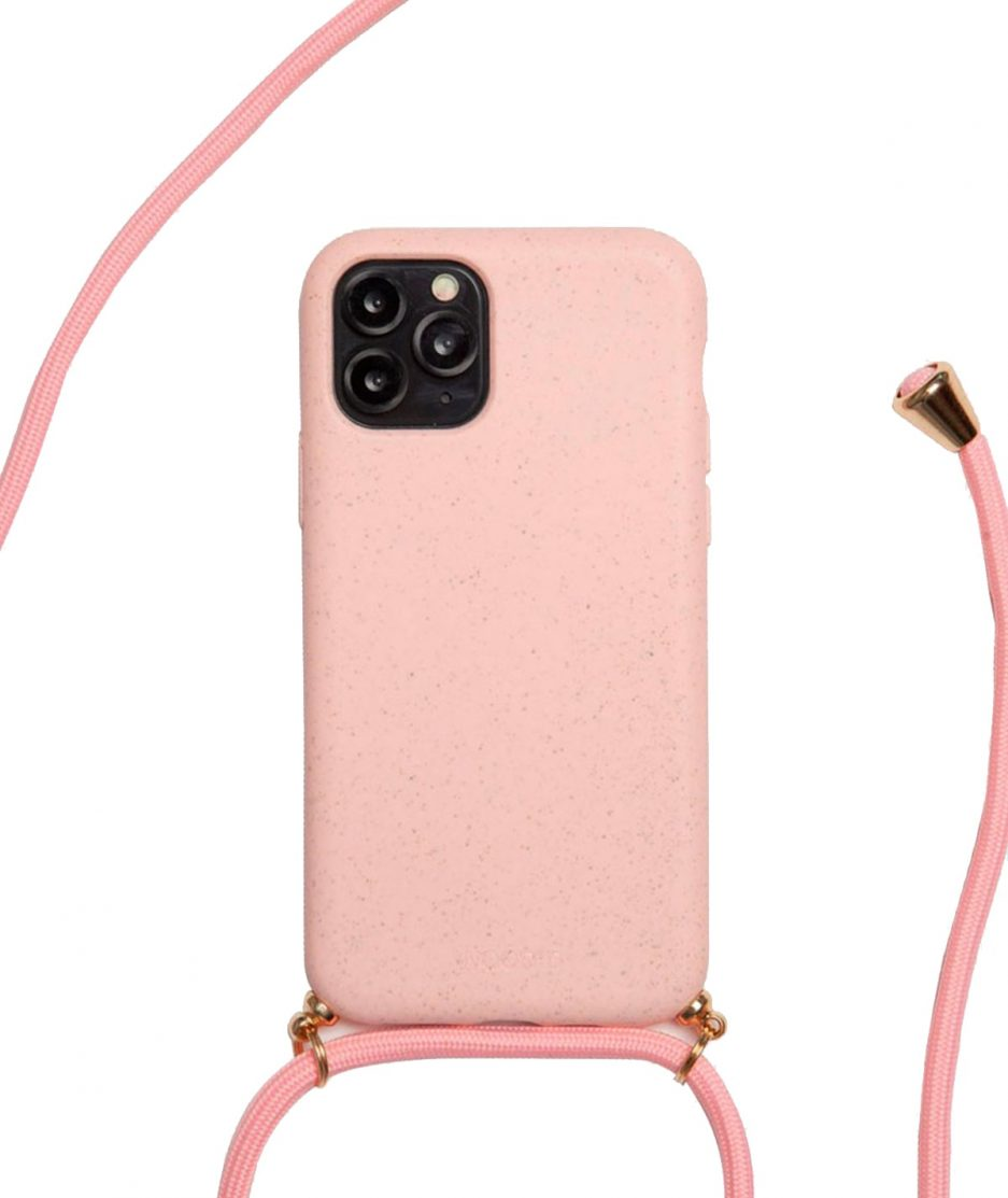 WOOD'D Cover Necklace Compostable Pink - ITZI HUB: il luogo sicuro per i tuoi regali
