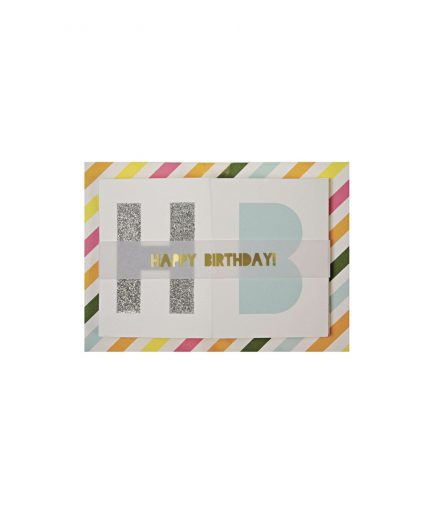 Meri Meri Biglietto di Compleanno Striscione - ITZI HUB: il luogo sicuro per i tuoi regali