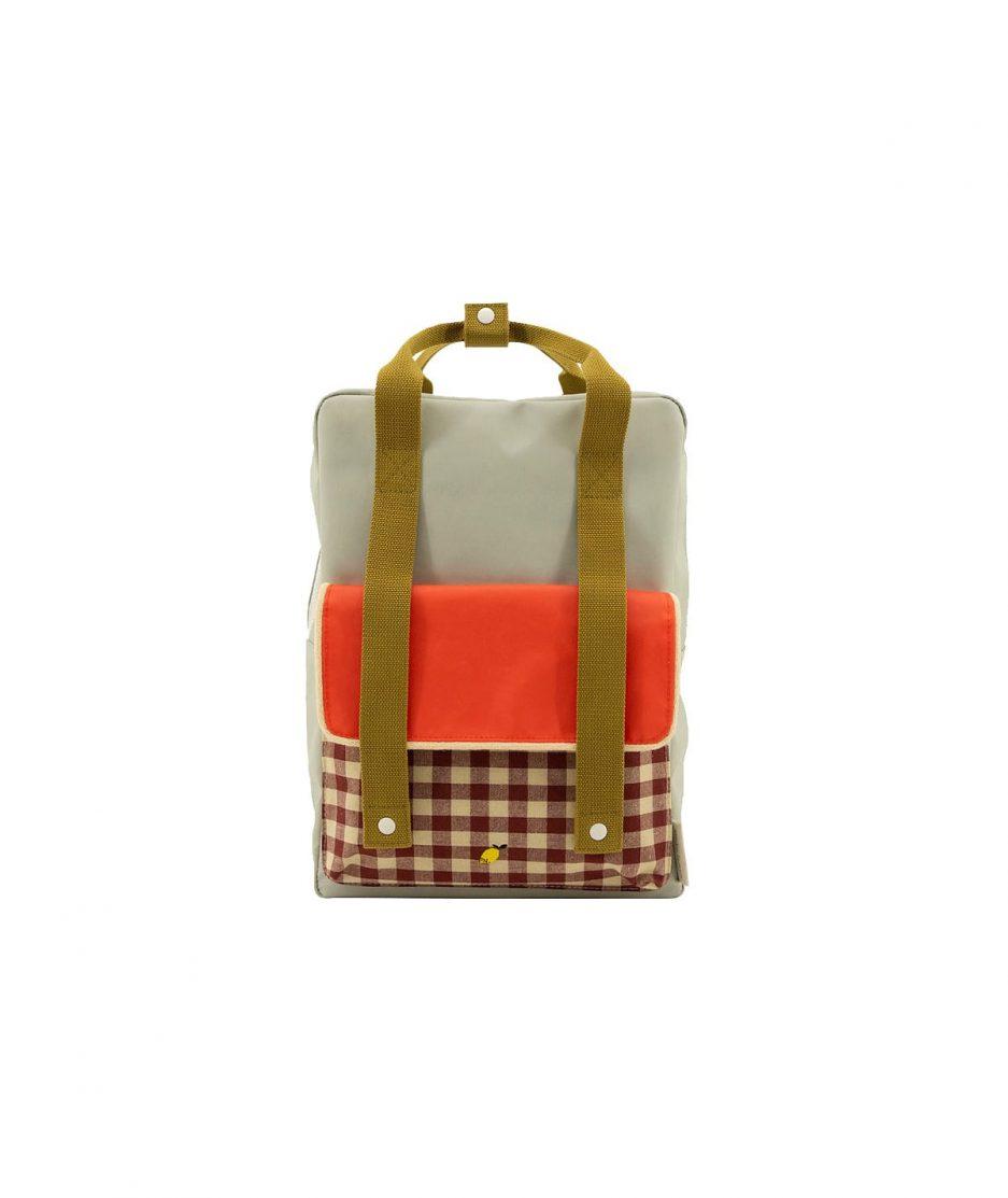 Sticky Lemon Zaino Gingham Grande Verde - ITZI HUB: il luogo sicuro per i tuoi regali