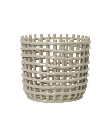 Ferm Living Vaso di Ceramica Grande - ITZI HUB: il luogo sicuro per i tuoi regali