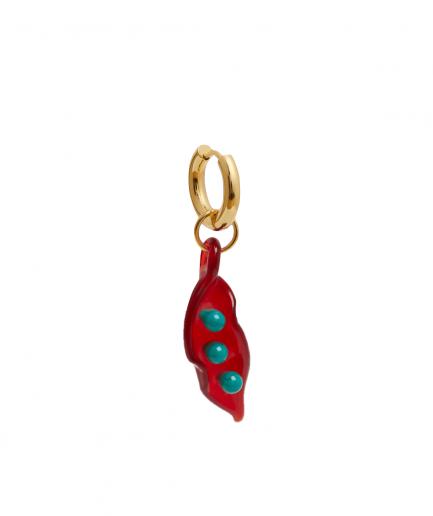 Sandralexandra Orecchini Baccello Rosso - ITZI HUB: il luogo sicuro per i tuoi regali