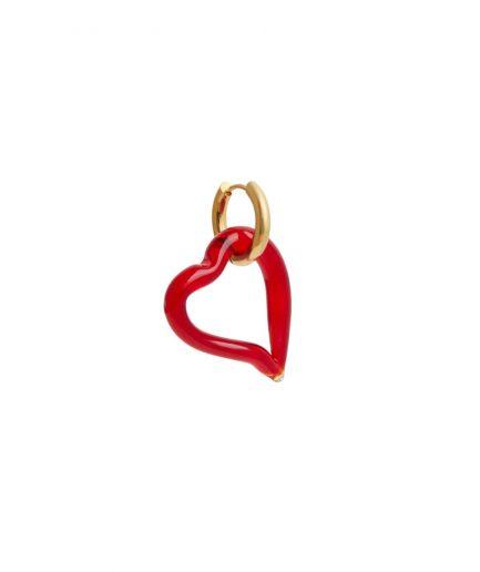 Sandralexandra Orecchini Cuore Rosso - ITZI HUB: il luogo sicuro per i tuoi regali