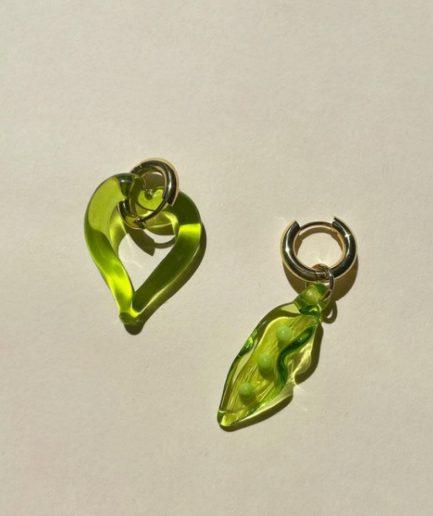 Sandralexandra Orecchini Cuore Verde - ITZI HUB: il luogo sicuro per i tuoi regali