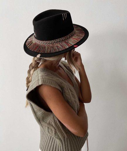 The Hat Gang Cappello Je Ne Sais Pas Nero - ITZI HUB: il luogo sicuro per i tuoi regali